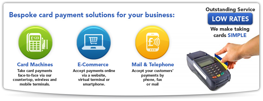 take card payments online