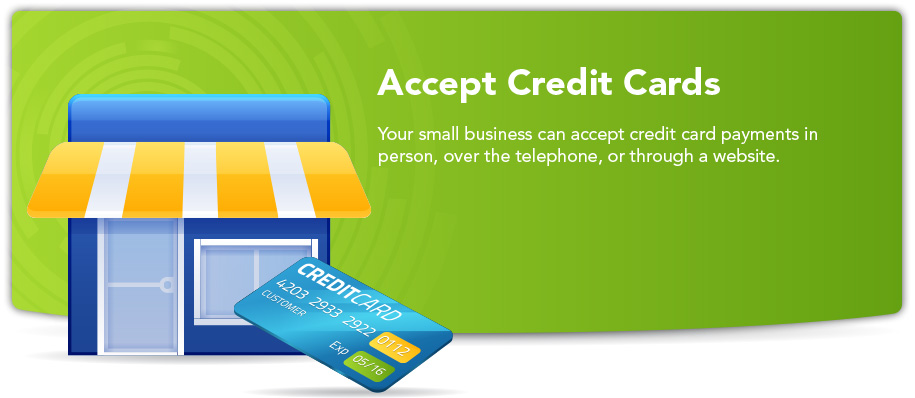 accept credit cards image
