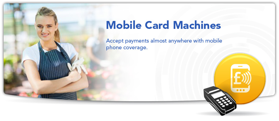 mobile card machines photo