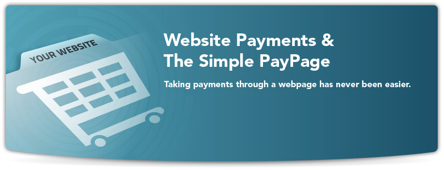 payments through webpage image
